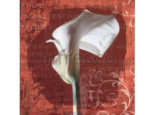 Фреска Белый цветок каллы, арт. ID135580
