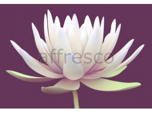 Фреска Белый цветок лотоса, арт. 7202