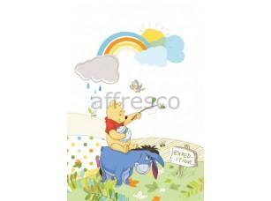 Фреска Винни на ослике | арт. 9347