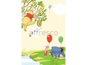 Фреска Винни пух и пчелы | арт. 9331
