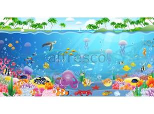 Фреска Детские, подводный мир | арт. 9542