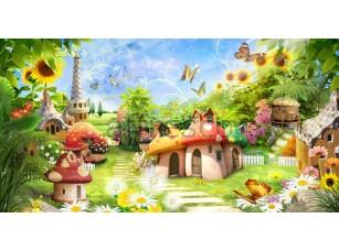 Фреска Детские, сказочные грибы | арт. 9543