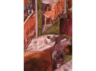 Фреска Городская романтика, чашка кофе арт. 3440