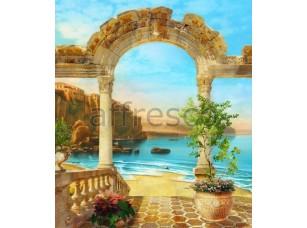 Фреска Арка у моря, арт. 4997