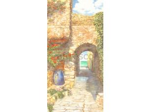 Фреска Арка с зеленью, арт. 6220