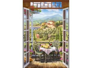 Вид на виноградник, арт. 6518