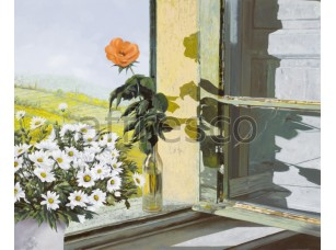 Ромашки в окне,  6840