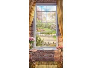 Окно в цветущий сад,  6926