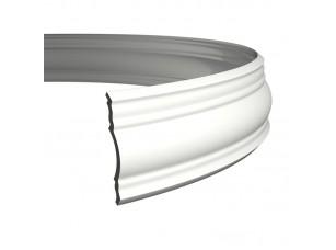 Карниз европласт 1.50.148 гибкий белый