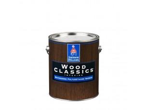 Глянцевый водный лак для дерева Wood Classic Waterborne Polyuretane Varnish Gloss 0,95л