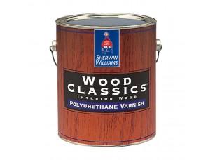 Полуматовый полиуретановый лак для дерева Wood Classic Polyuretane Varnish Satin 3,8л