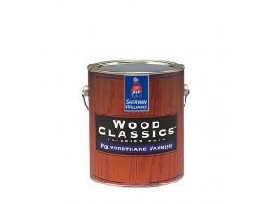 Полуматовый полиуретановый лак для дерева Wood Classic Polyuretane Varnish Satin 0,95л